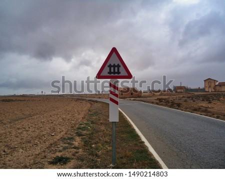 landscape, sky, railway, railway signals, signal, nature #1490214803