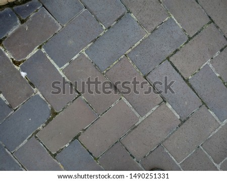 Stone masonry pattern of natural brown color #1490251331