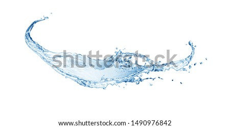 Water splash,  water splash isolated on white background, water #1490976842