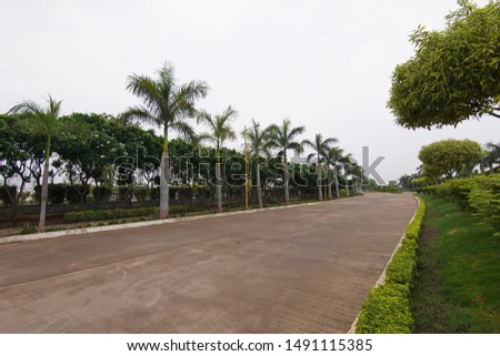 Clean and beautiful street Road #1491115385