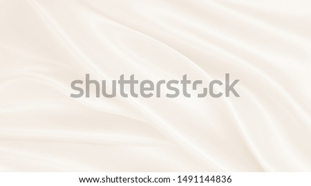 Smooth elegant golden silk or satin luxury cloth texture can use as wedding background. Luxurious background design. In Sepia toned. Retro style #1491144836