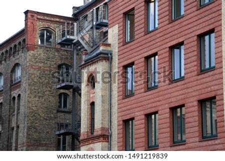 Building in a neighborhood of Berlin #1491219839