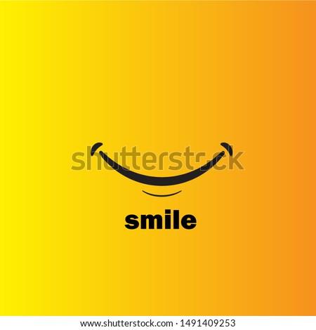 Smile icon Logo Vector Template Design Royalty-Free Stock Photo #1491409253