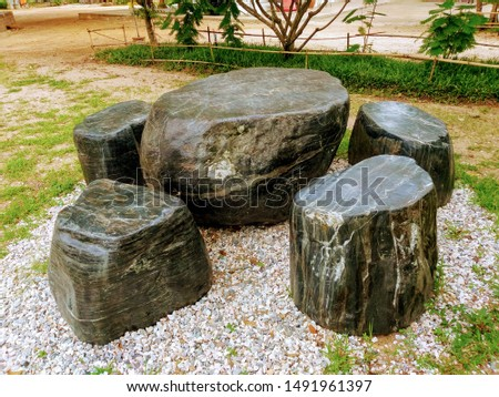 Garden marble furniture for industrial use #1491961397
