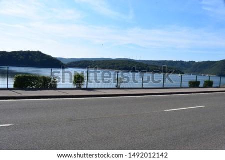 Rursee reservoir in northern Eifel #1492012142