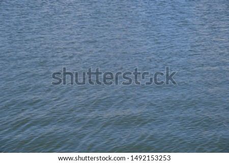 The surface of the water in the city canal #1492153253