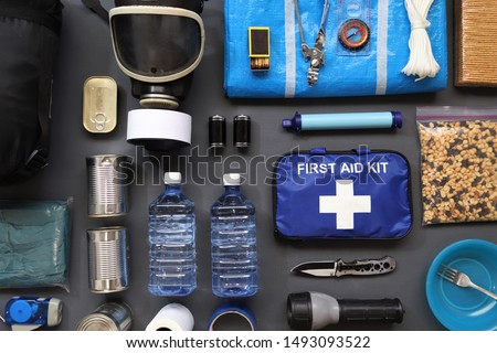Preppers are known for preparing for natural disasters,economic collapse,civil unrest or any doomsday scenario.Such items would include food,water,lighting,shelter,and a first aid kit.Bug out kit.  #1493093522
