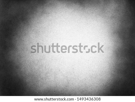 Vintage black and white noise texture. Abstract splattered background for vignette. #1493436308