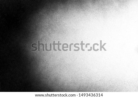 Vintage black and white noise texture. Abstract splattered background for vignette. #1493436314
