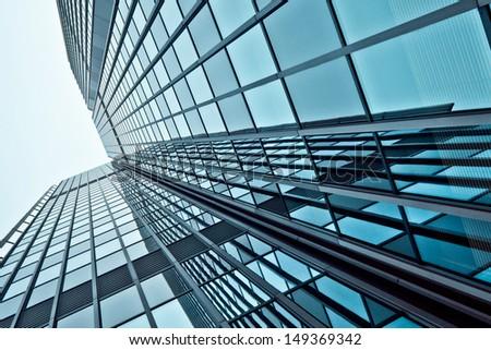 glass modern business center #149369342