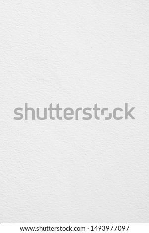 White cement or concrete wall texture for background, Empty space.Vertical image. #1493977097