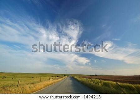 rural farm field #1494213