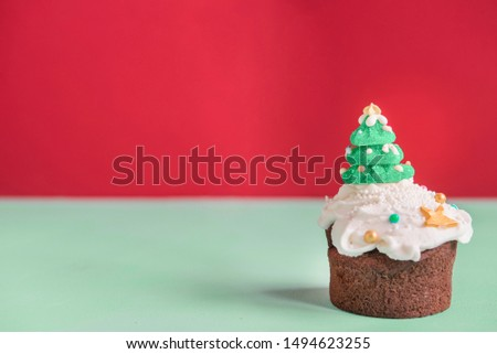 Cupcakes for christmas time Original idea