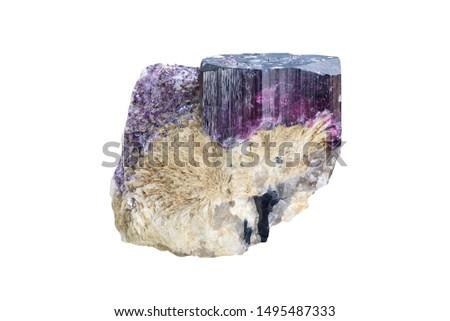 Rubellite from Rozinka, Moravian Highlands, Czech republic.  #1495487333
