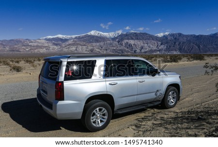 California, USA 02/07/2019 - Chevrolet Tahoe #1495741340