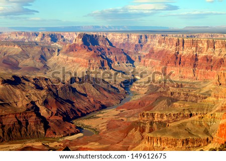 Grand Canyon National Park seen from Desert View Royalty-Free Stock Photo #149612675