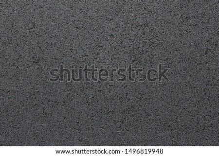 Black Floor Rubber Tile Background Dark Texture Pattern #1496819948