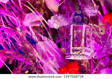 Wedding decoration , Christmas decoration , Diwali decoration with lights and flowers #1497068738