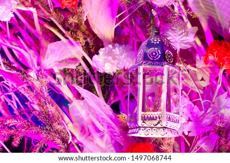 Wedding decoration , Christmas decoration , Diwali decoration with lights and flowers #1497068744