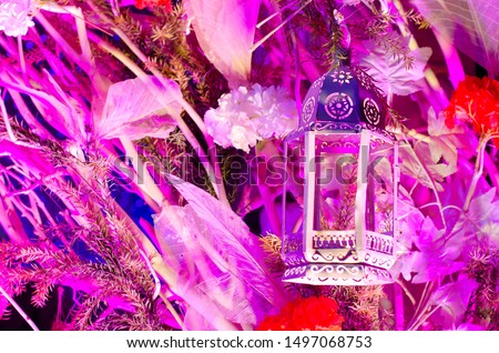 Wedding decoration , Christmas decoration , Diwali decoration with lights and flowers #1497068753