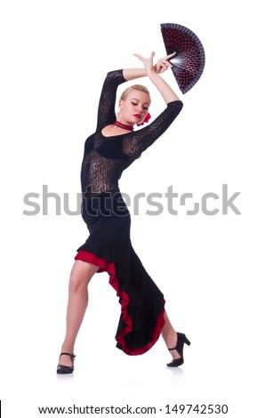 Female dancer dancing traditional dances #149742530