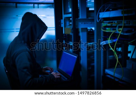 Hackers who steal into the organization to steal important information for ransom By embedding viruses on the server. #1497826856