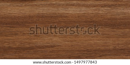 Natural wood texture background, wood planks. Grunge wood, Dark brown painted wooden wall pattern, Super long walnut planks texture background. It can be used for interior-exterior home decoration. #1497977843