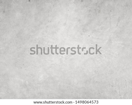 Cement wall background, not painted in vintage style for graphic design or retro wallpaper. Concrete pattern with aged texture. Loft type masonry found in rural areas. #1498064573
