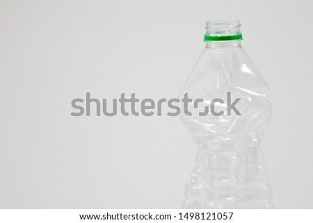 Empty plastic bottle white fresh #1498121057