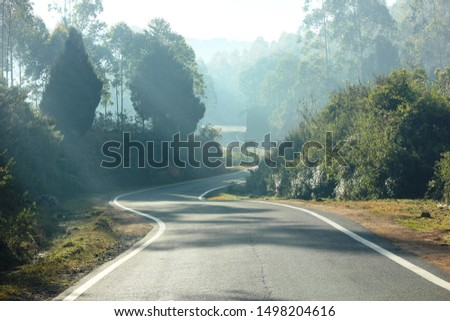 Down hill road to town #1498204616