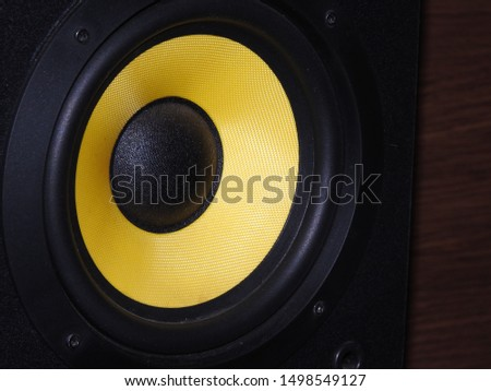 A subwoofer (or sub) is a loudspeaker designed to reproduce low-pitched audio frequencies known as bass and sub-bass, lower in frequency than those which can be (optimally) generated bya woofer #1498549127
