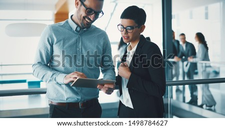 Business colleagues in conference room #1498784627
