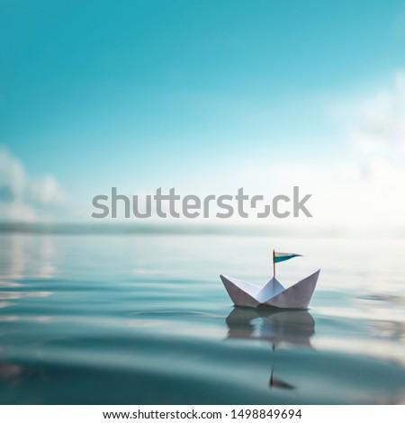 Paper Boat - Sail away #1498849694