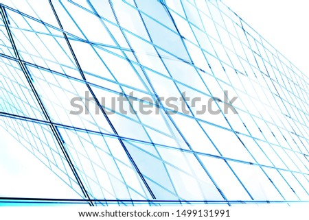 Collage photo of framed hi-tech glass structures. Structural glazing. Transparent wall, ceiling or roof fragments with metal framework. Abstract modern architecture, industry or technology background. #1499131991