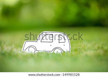 Green paper eco car