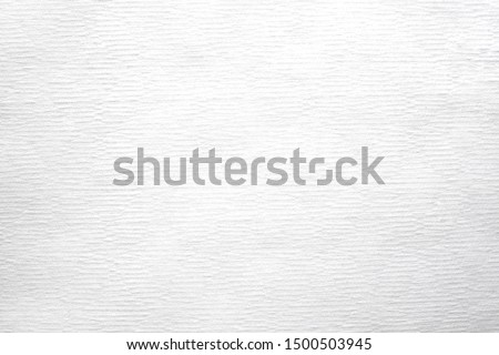 Close-up of  White tissue paper texture, Clean color background abstract. Design in your work backdrop and decoration. Detail texture of pattern with blank space copy for text. #1500503945