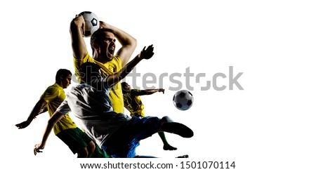 Abstract soccer theme - hottest match moments #1501070114
