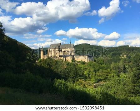 11th century Medieval castle, Vianden, Luxembourg #1502098451