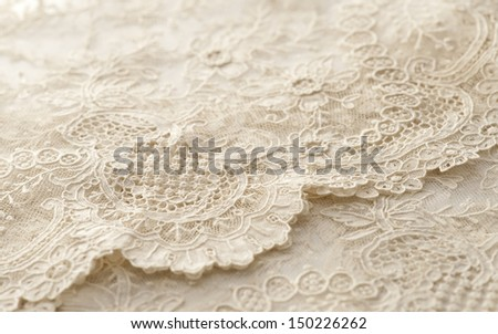 a background image of ivory-colored lace cloth #150226262
