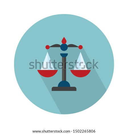 balance Justice icon - From web, universal and Miscellaneous Icons set Royalty-Free Stock Photo #1502265806
