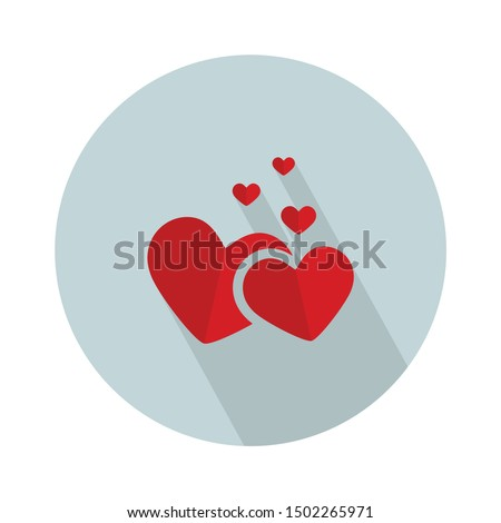 christmas hearts Icon - From web, universal and Miscellaneous Icons set Royalty-Free Stock Photo #1502265971