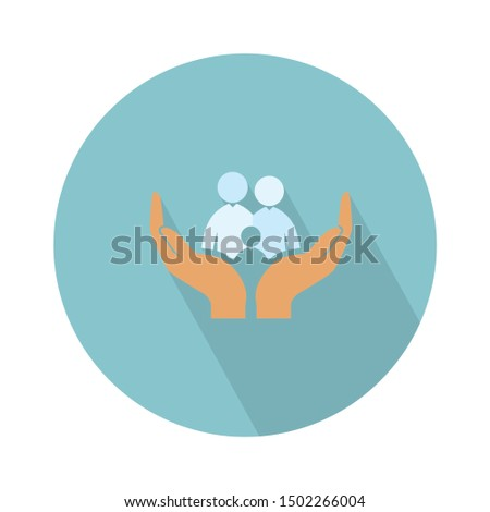 family insurance icon - From web, universal and Miscellaneous Icons set Royalty-Free Stock Photo #1502266004