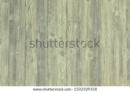 Light olive painted old wooden background. Green wood texture rural vintage backdrop closeup. #1502509358