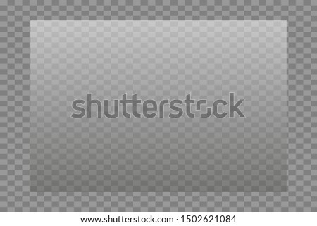 Glass transparent on a transparency grid of different sizes. #1502621084