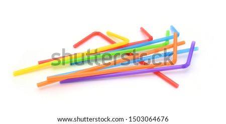 Straw plastic straw drink straw - Image  #1503064676