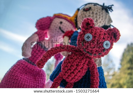 Crochet adorable figure teddy bear #1503271664
