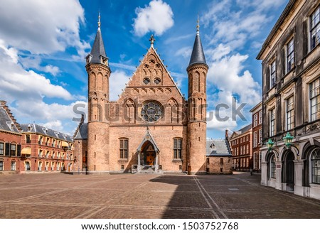Hall of Knights (Ridderzaal) at Inner Court (Binnenhof), The Hague, Holland,  The Netherlands #1503752768