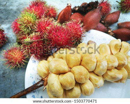 a​ variety of​ the​ Tropical​ fruits #1503770471