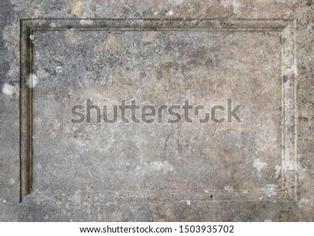 Carved Stone Masonry frame texture background #1503935702