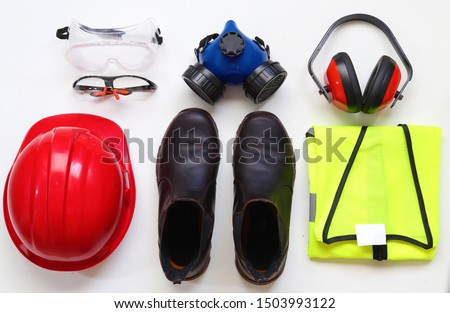 Personal Protective Equipment or PPE for short is mandatory on most work sites.Most construction sites require that a worker at all times at least wears a helmet,protective glasses, and closed shoes #1503993122